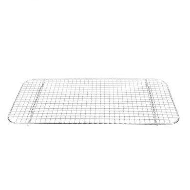 """Wire Mesh Pan Grate - 10"""" x 18"""""""