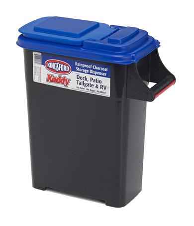 Buddeez Kingsford Kaddy Mini Charcoal Storage Container - 16 Quart