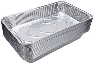 Aluminum Foil Steam Pan Full Size - 15 Pack