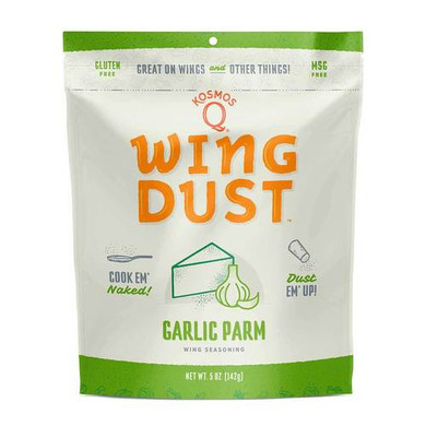 Kosmo's Wing Dust Garlic Parm - 5 oz