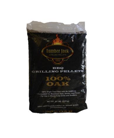 Lumber Jack 100% OAK Pellets - 20 lb
