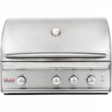 "Blaze Professional 34"" 3-Burner Built-In Gas Grill"