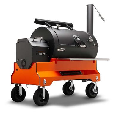 Yoder YS1500s Competition Pellet Grill Orange