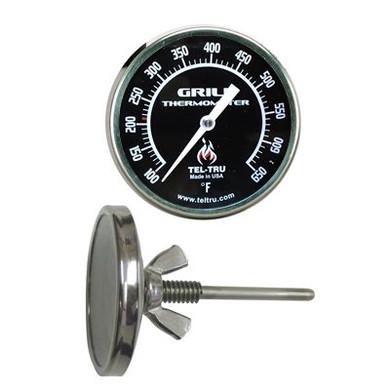 Tel-Tru BQ225 GRILL Edition Thermometer - 2.5'' Stem
