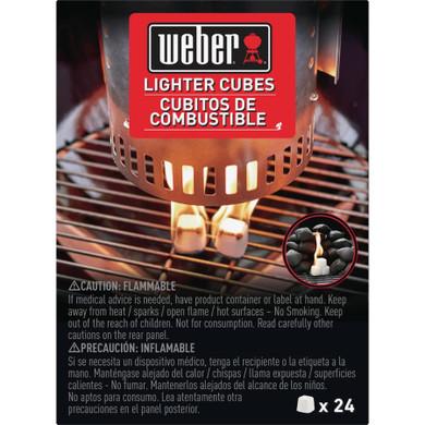 Weber Starter Cubes - 24 pack