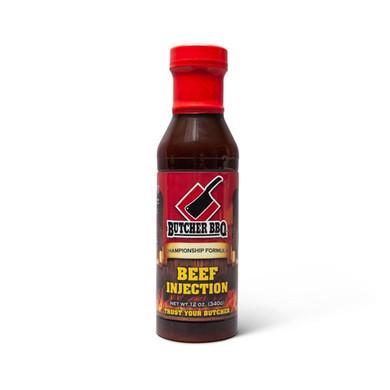 Butcher Liquid Beef Injection 12 oz
