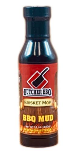 "Butcher BBQ ""BBQ Mud"" Brisket Mop & Steak Marinade - 12 oz"