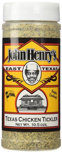 John Henry's Texas Chicken Tickler Rub 10.5 oz