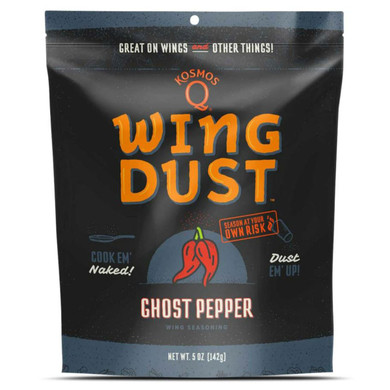 Kosmo's Wing Dust Ghost Pepper 5 oz