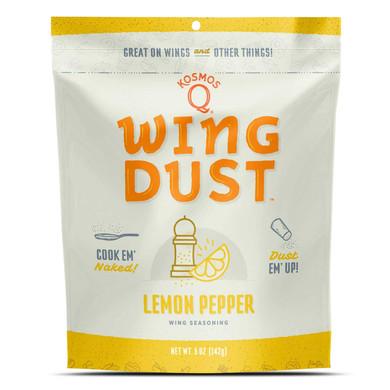 Kosmo's Wing Dust Lemon Pepper 5 oz