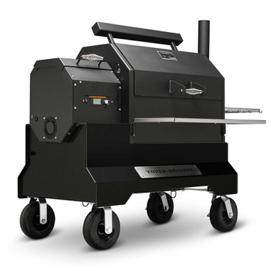 Yoder YS640s Competition Pellet Grill Black
