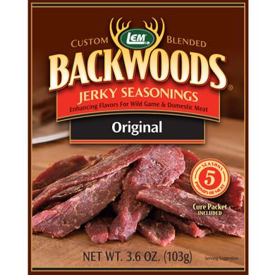 Lem Products Backwoods Jerky Seasoning ORIGINAL (Makes 5 lb)