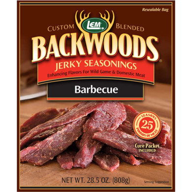 LEM Products Backwoods Jerky Seasoning BBQ (Makes 5 lb)