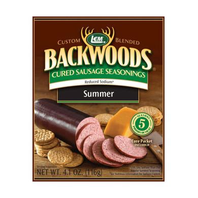 LEM Products Backwoods Sausage Seasoning SUMMER (Makes 5 lb)