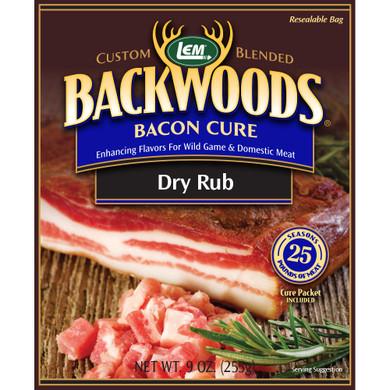 LEM Products Backwoods Bacon Cure Dry Rub (Makes 25 lb)