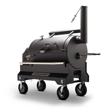 Yoder YS1500s Competition Pellet Grill Black