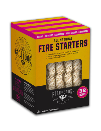 Fire & Smoke All Natural Fire Starters 32 ct