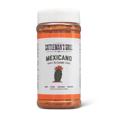 Cattlemans Mexicano Rub 10 oz