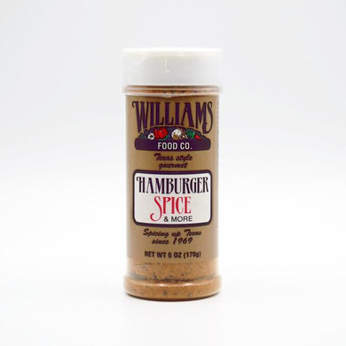 Williams Hamburger Spice 6 oz