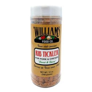 Williams Rib Tickler Rub 6 oz