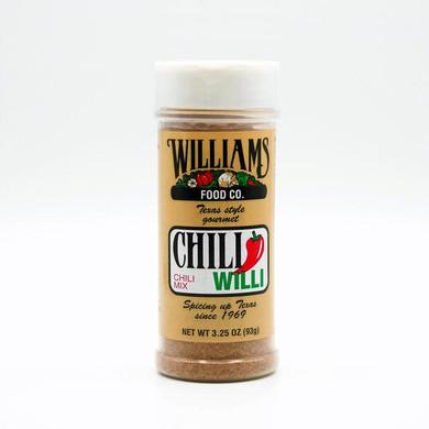 Williams Chili Willi Mix 6 oz