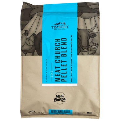 Traeger LIMITED EDITION MEAT CHURCH BLEND PELLETS (18LB)