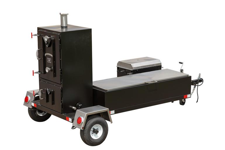 Meadow Creek BX50T BBQ Smoker Trailer
