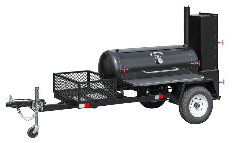 Meadow Creek TS120 BBQ Smoker Trailer