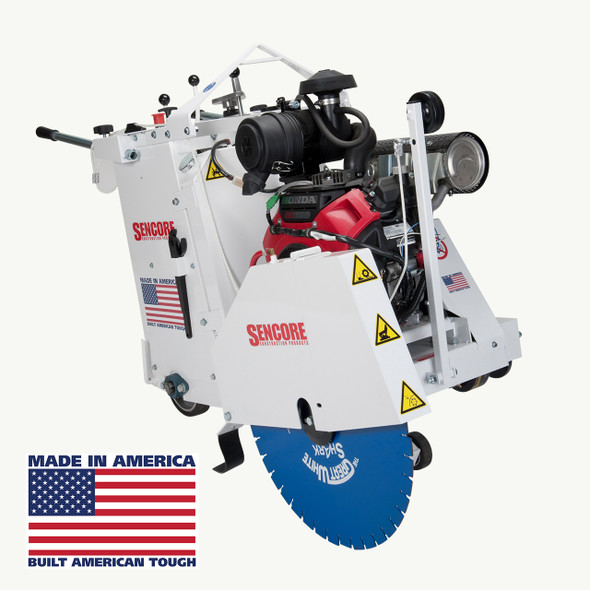 "24"" Self-Propelled Saw"