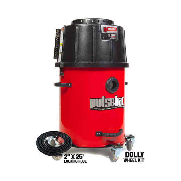 Pulse-Bac Pro 225 Vac Incl. 20Gal Tank, Hose & Wheel Kit