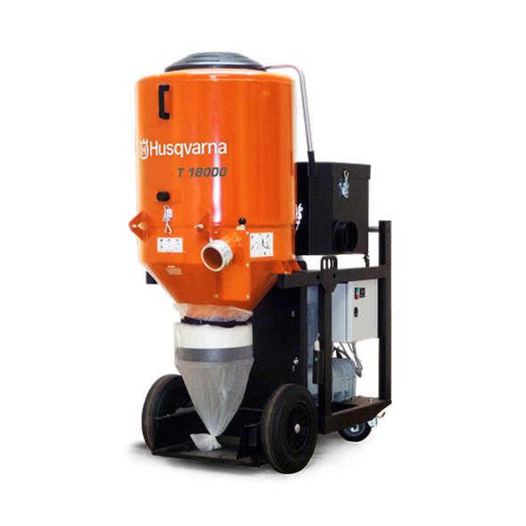 3PH Husqvarna T18000 HEPA Dust Extractor