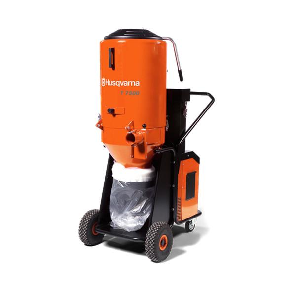 3PH Husqvarna T7500 HEPA Dust Extractor