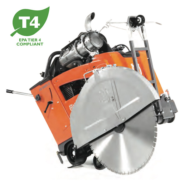 FS 5000 D 1-Speed (E-Track and/or Blade Clutch) Concrete Flat Saw