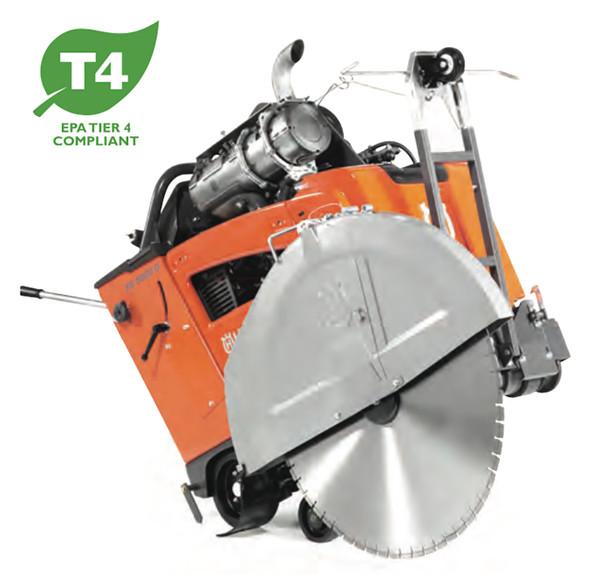 FS 5000 D 3-Speed  (E-Track) Concrete Flat Saw