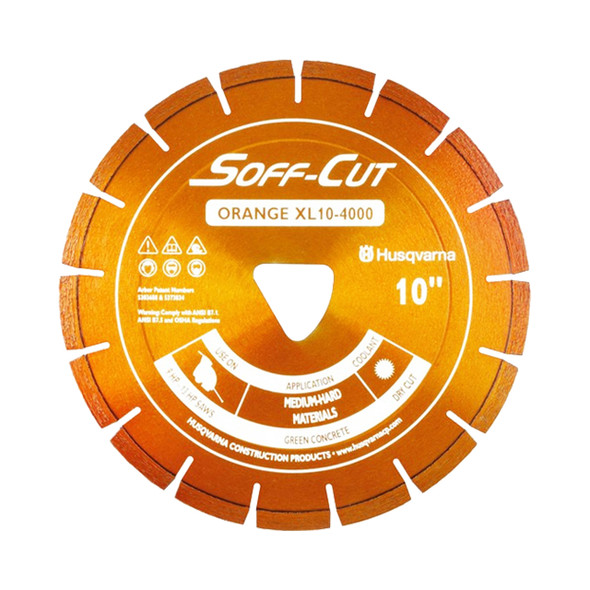Excel 4000 Ultra Early Orange Diamond Blade Husqvarna XL Series