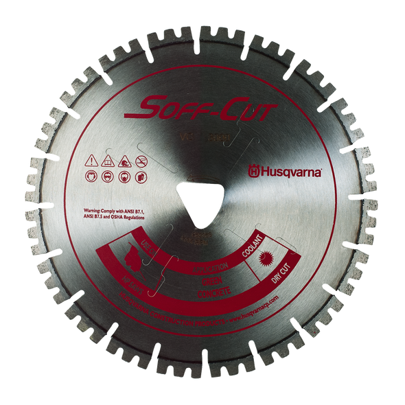 Vari-Cut™ 3000 Red Husqvarna Soff-Cut Diamond Blade