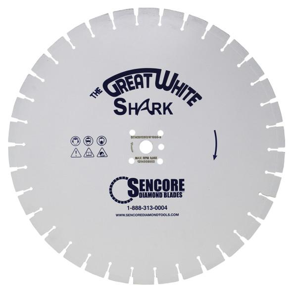 The Great White Shark Diamond Blade | 2000 Bond