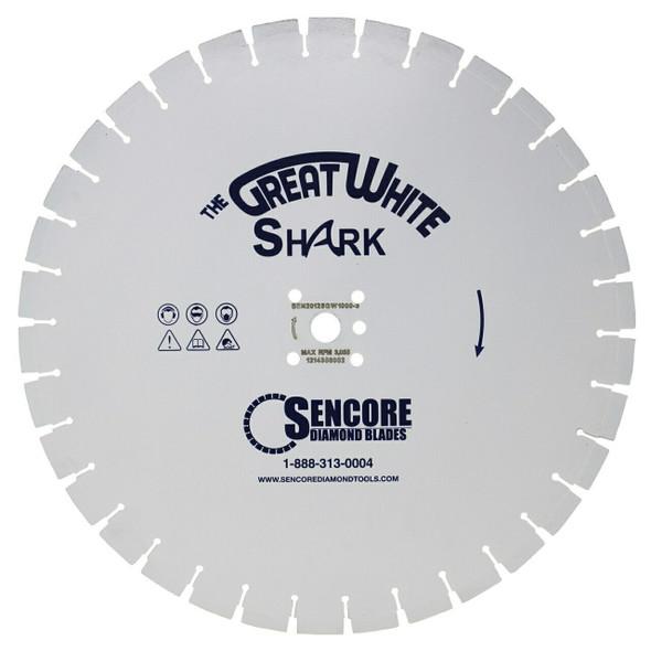 The Great White Shark Diamond Blade | 5000 Bond