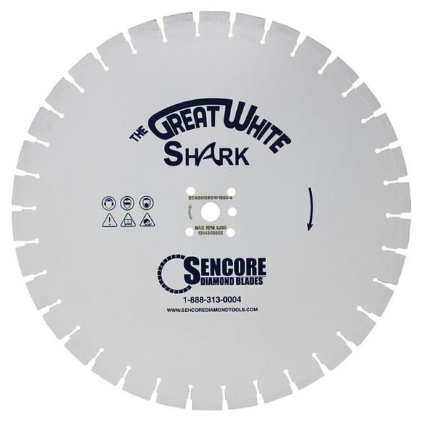 The Great White Shark Diamond Blade | 6000 Bond