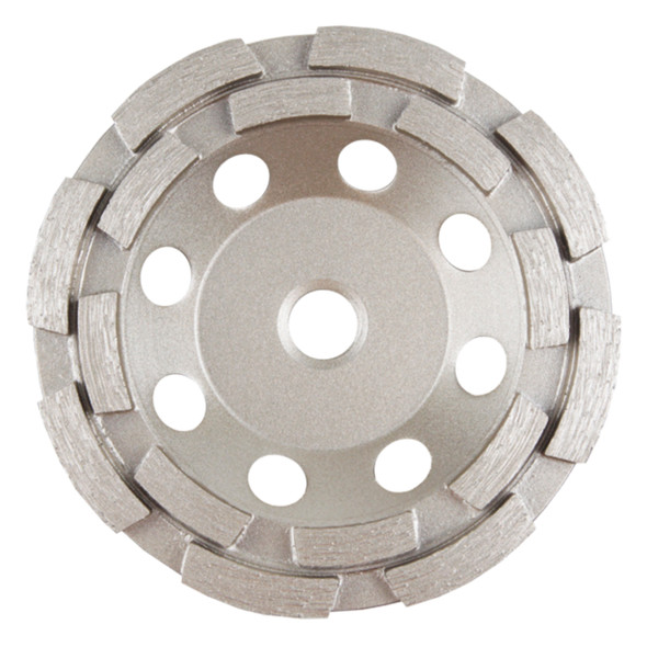 Double Row Diamond Cup Wheel Blade
