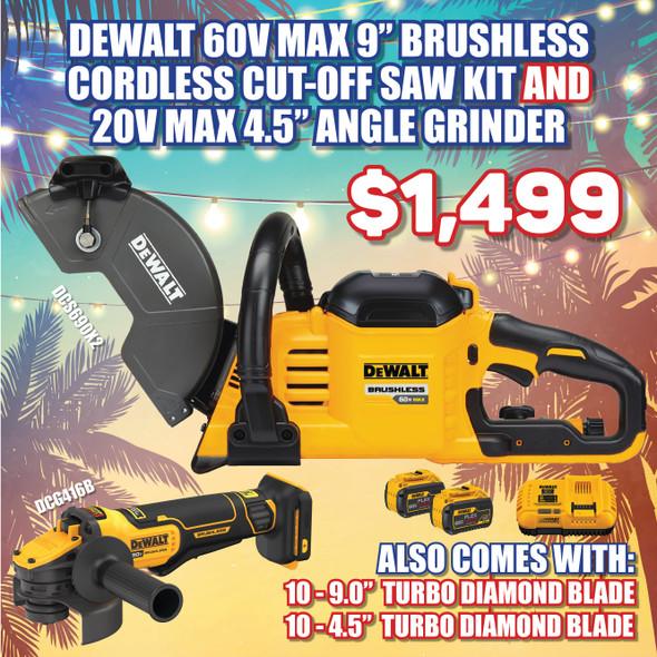 Dewalt DCS690X2 + Dewalt DCG416B