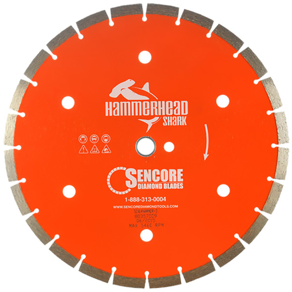 Hammerhead Diamond Saw Blade