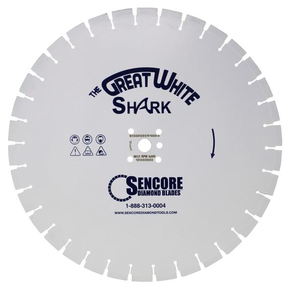 The Great White Shark Diamond Blade | 1000 Bond