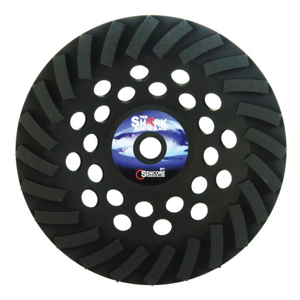 The Shark Supreme Turbo Diamond Cup Wheel
