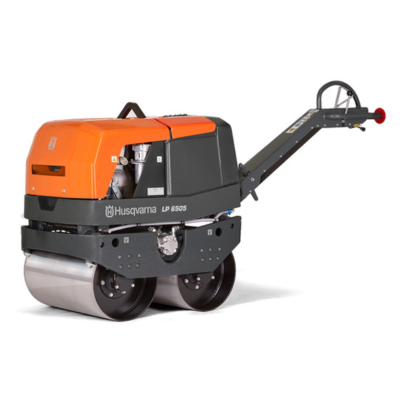 LP 6505 Diesel EPA Husqvarna Duplex Roller Reversible Compactor