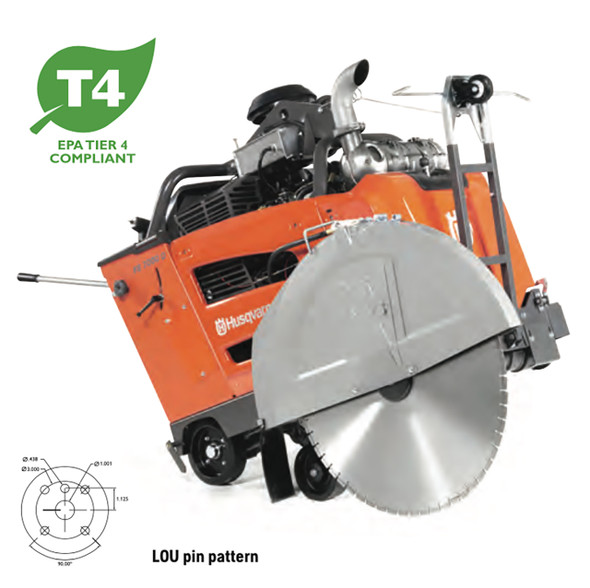 FS 7000 D 1-Speed Regular Concrete Flat Saw