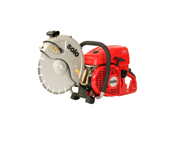 "14"" SOLO® 881 Cut-Off Saw 2-Stroke 81CC Engine"