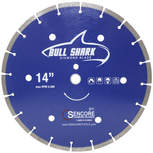 "14"" Bull Shark Diamond Saw Blade"