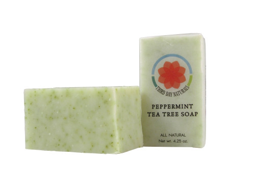 Peppermint Tea Tree Soap