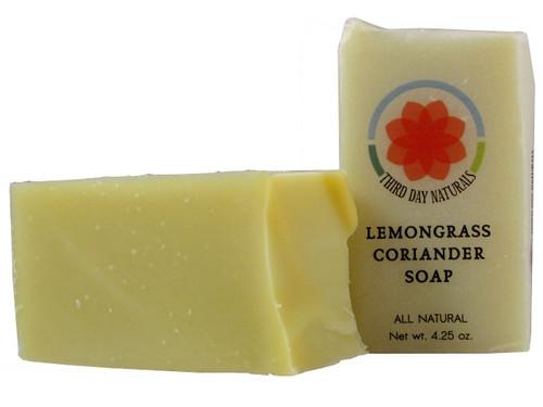 Lemongrass Coriander Soap